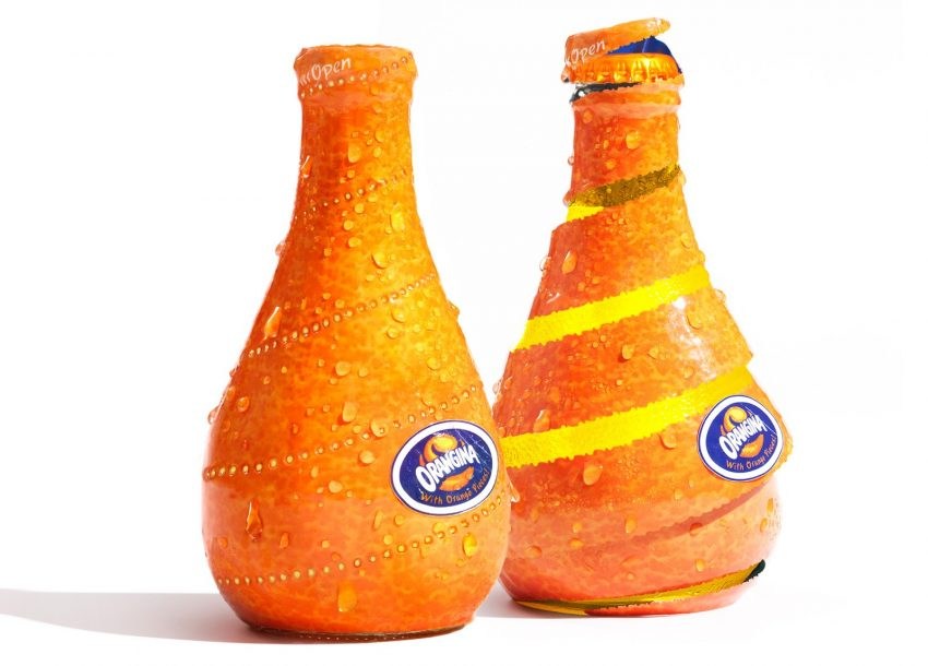 Bouteille Orangina concept packaging