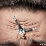 affiche publicitaire nivea for men