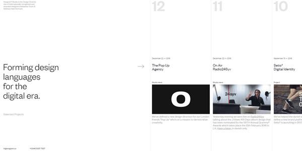 site internet - Norgram — Digital Design Studio