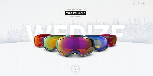 site internet - wedze